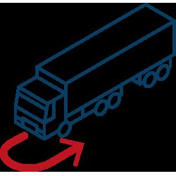 control movimiento camiones